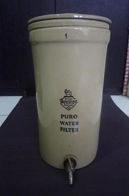 Indonesia Antique , Not Just Antique but Tell History: Ceramic Water Filters Royal Doulton Vintage