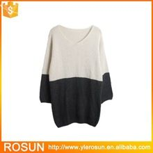 Plus size wide sleeve withe and black striped sweater  Best Seller follow this link http://shopingayo.space