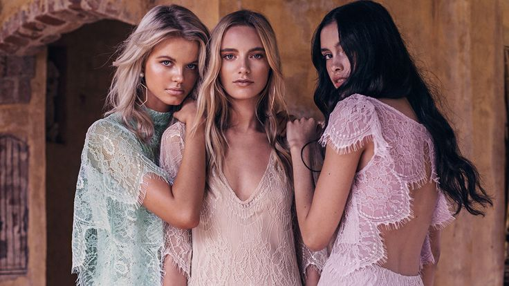 Meet Grace Loves Lace, the Cool Bridal Brand Aussie It-Girls Love | StyleCaster