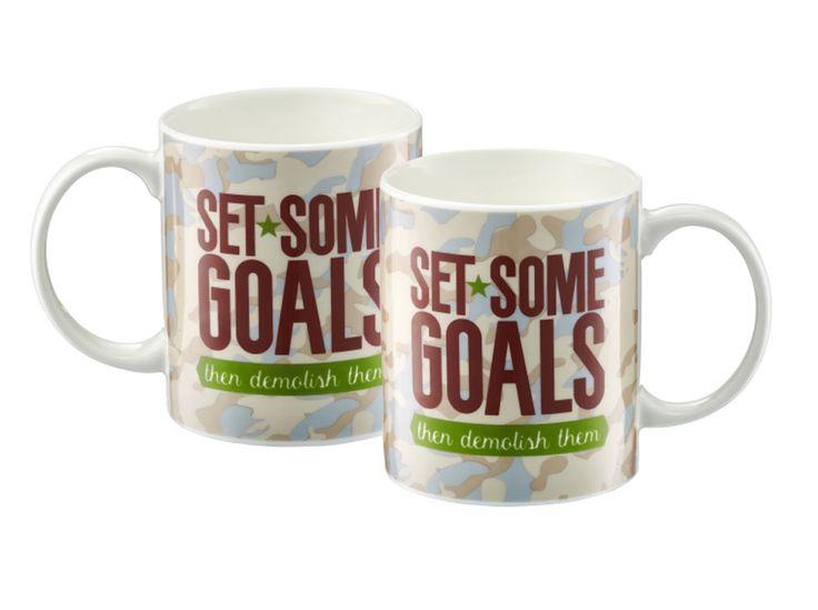 Kubek Inspire Set some goals 350 ml AMBITION