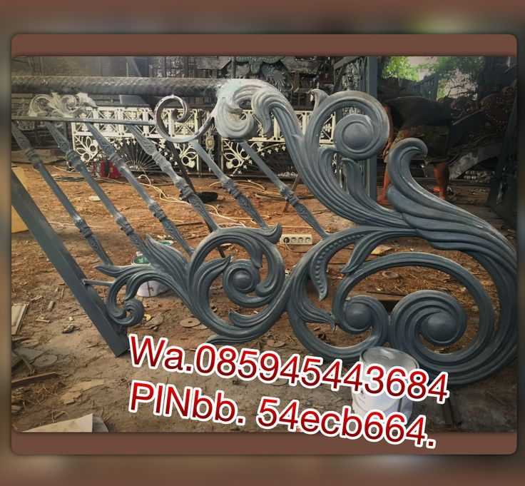 Wa. 085945443684 PINbb. 54ecb664. Spesialis besi tempa klasik. CENTRAL JAVA ART. Jl.H.Bidong raya.ketapang. Cipondoh.
