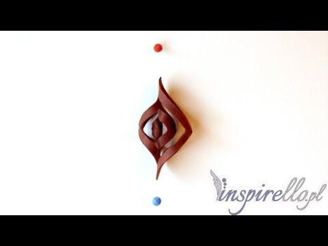 video Filcowanie krok po kroku - jak zrobić ozdobę z filcu - YouTube