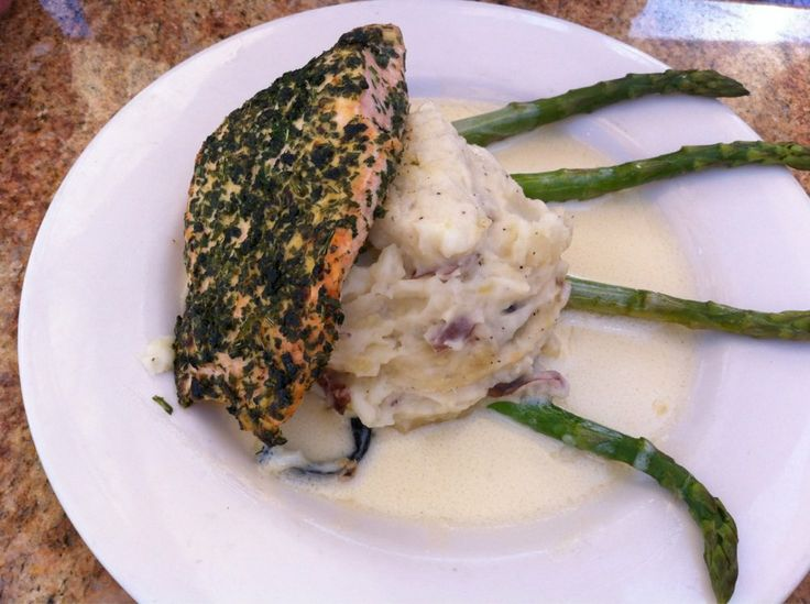 herb crusted salmon the cheesecake factory marina del rey. Black Bedroom Furniture Sets. Home Design Ideas