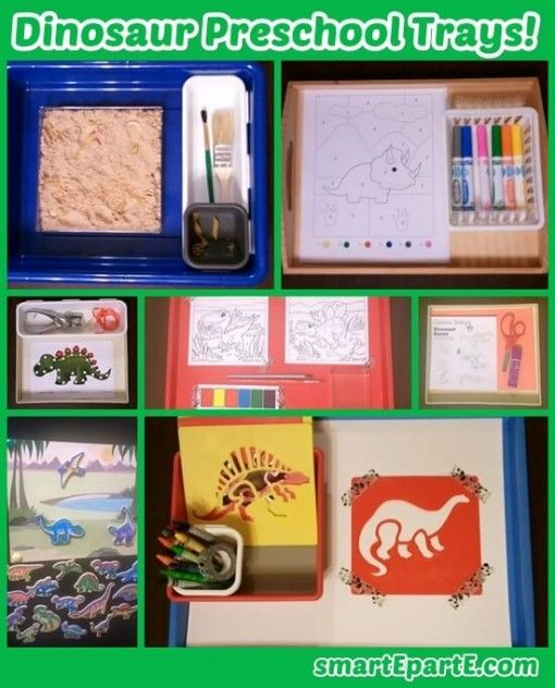 Dinosaur Preschool Theme!
