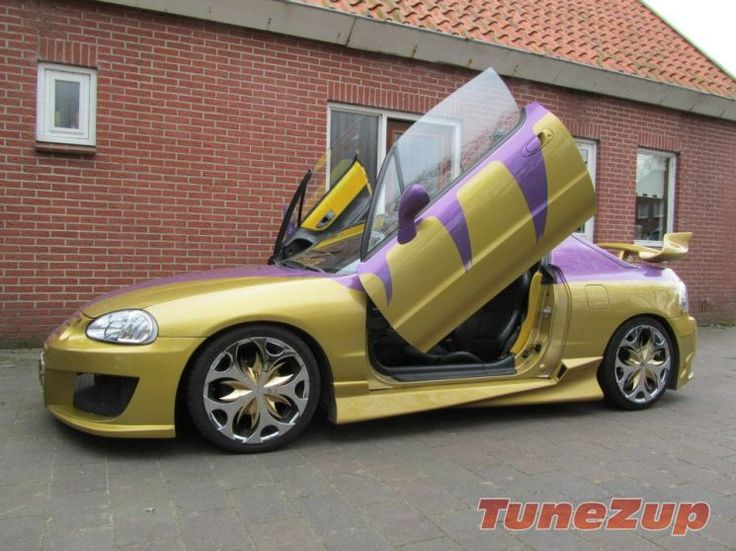 for sale modified honda crx delsol with lambo doors. Black Bedroom Furniture Sets. Home Design Ideas
