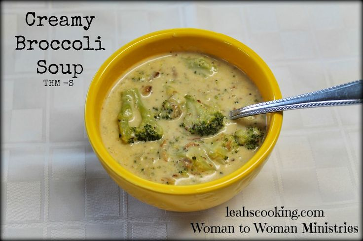S - Creamy Broccoli Soup - 1 package frozen broccoli 3 c chicken broth 1 small onion 1/2 c chopped bacon 1 T butter 1-8oz cream cheese 1 c shredded cheese 1/4 t garlic salt 1/2 t pepper 1 t salt