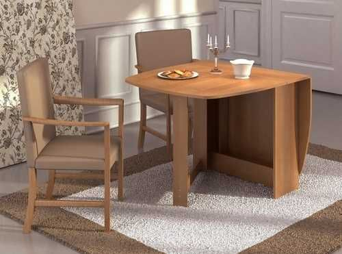 folding dining table for space saving interior design