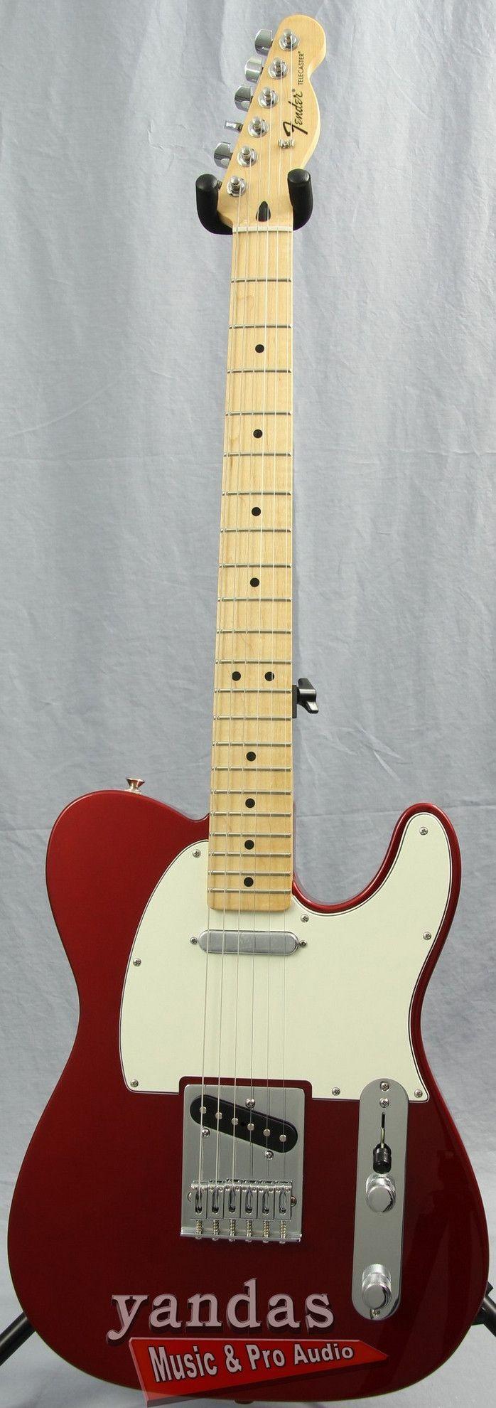 Fender Standard Telecaster Electric Guitar www.guitaristica.org #electricguitar #guitars #guitaristica
