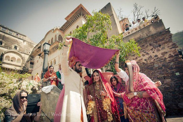 A Destination wedding in Neemrana Palace that gives back to Society!
