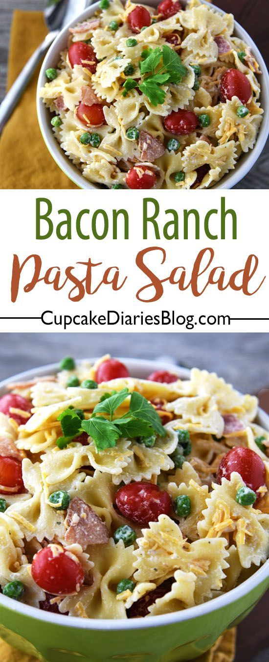 Ranch packet pasta recipes