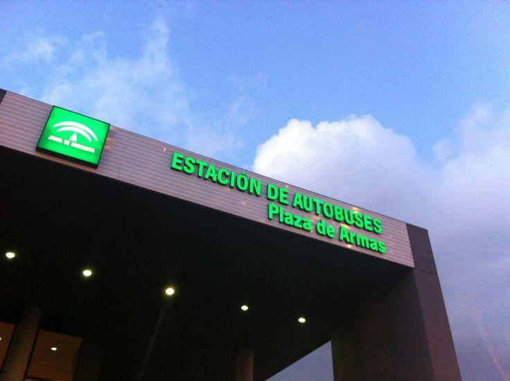 Estación de Autobuses Plaza de Armas en Sevilla, Andalucía