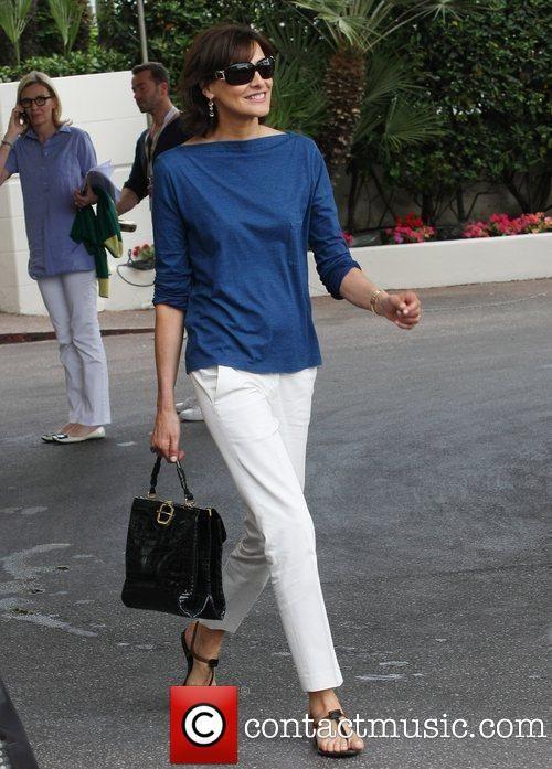 Inès de La Fressange - in Cannes.