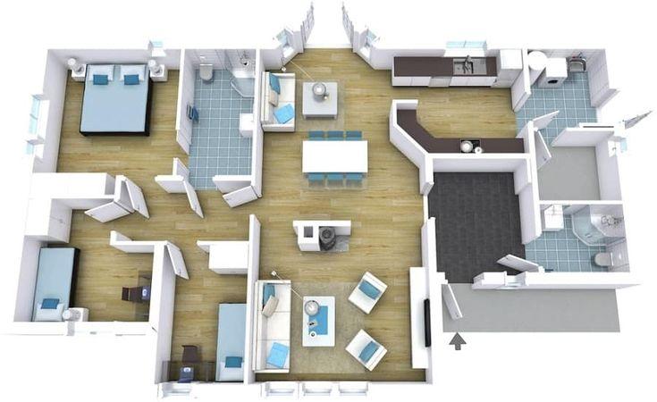 Free 2d 3d Interior Design Software Online House Floor Plans Home Design Software Create House Plans