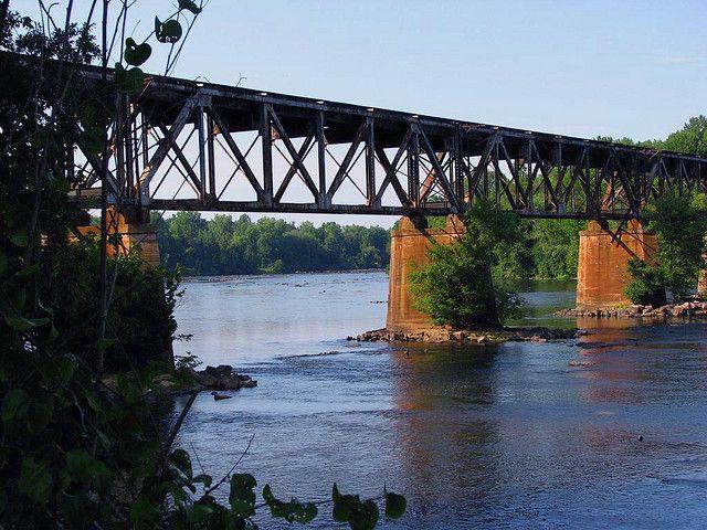 Rock Hill SC | Rock Hill, SC - Railroad Trestle over Catawba River