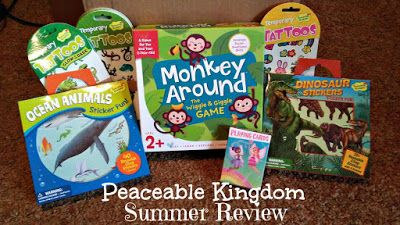 Mixed Bag Mama: Keep Kids Entertained This Summer With Peaceable K...