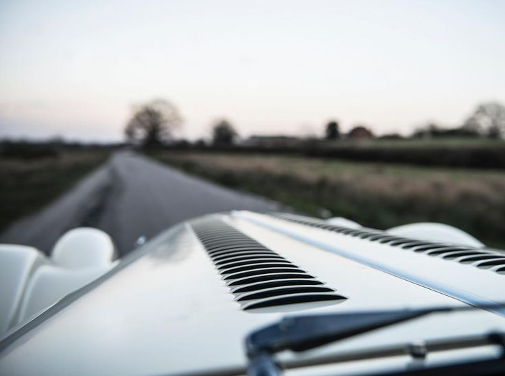 The unique view out of a @morganmotor windscreen