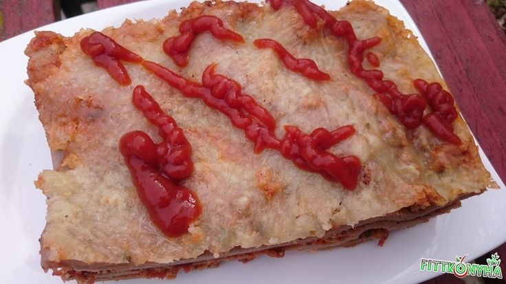 Lasagne gluténmentesen - FittKonyha