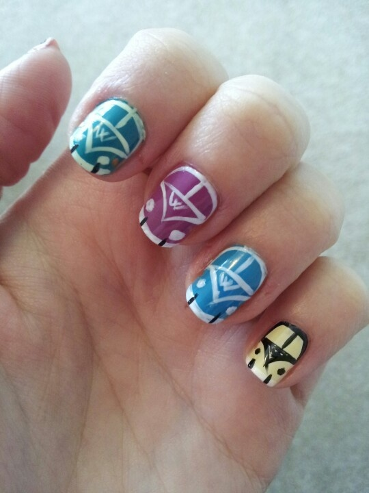 These are very cool as maybe a simpler way to do vw nails