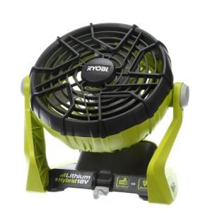 Ryobi ONE+ 18-Volt Hybrid Portable Fan (Tool Only) P3320 at The Home Depot - Mobile