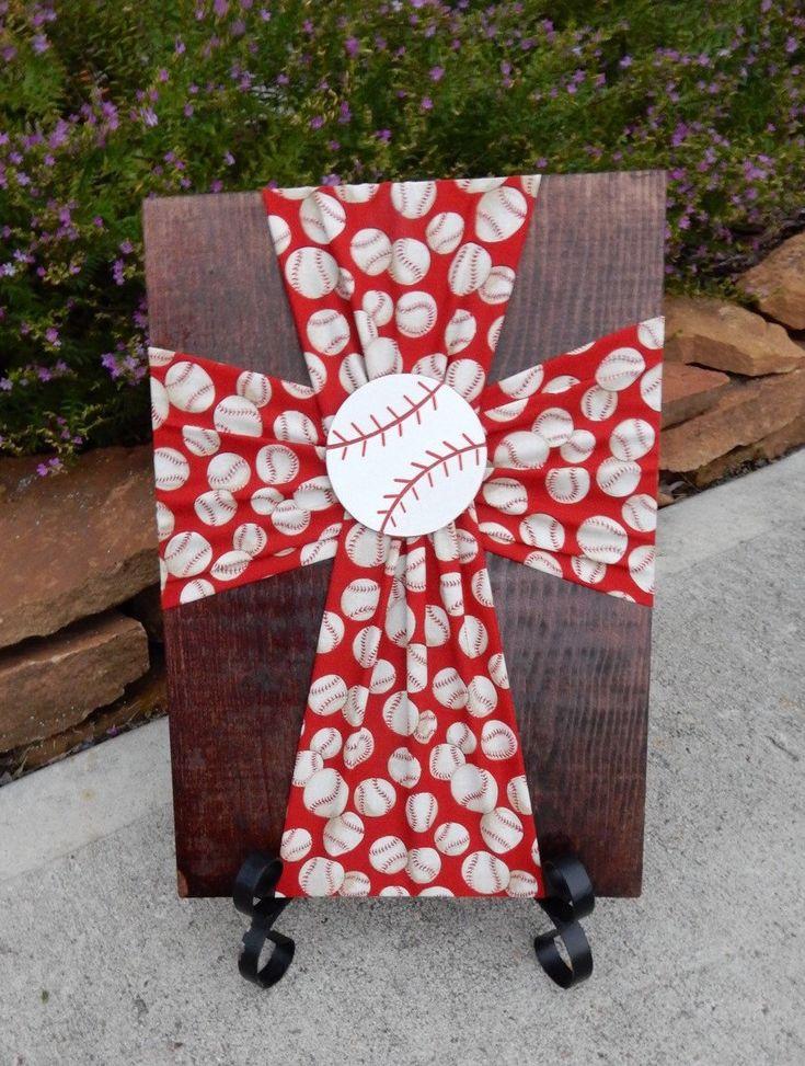 A personal favorite from my Etsy shop https://www.etsy.com/listing/259690718/baseballred-baseballbaseball