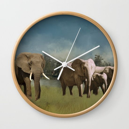 """https://society6.com/daugustart?promo=XZ3WY26P3CNJ Use my link above for 20% off and Free Shipping on everything in my shop #SALE-Available in natural wood, black or white frames, our 10"""" diameter unique Wall Clocks feature a high-impact plexiglass crystal face and a backside hook for easy hanging. Choose black or white hands to match your wall clock frame and art design choice. Clock sits 1.75"""" deep and requires 1 AA battery (not included)."""