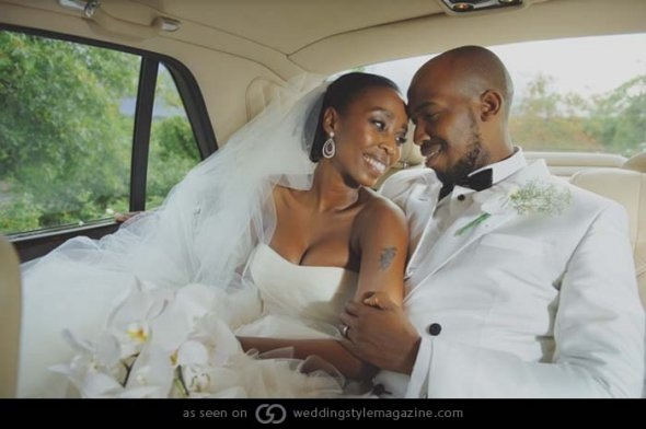 Monametsi and Tsholo Married in Cape Town, South Africa on April ...