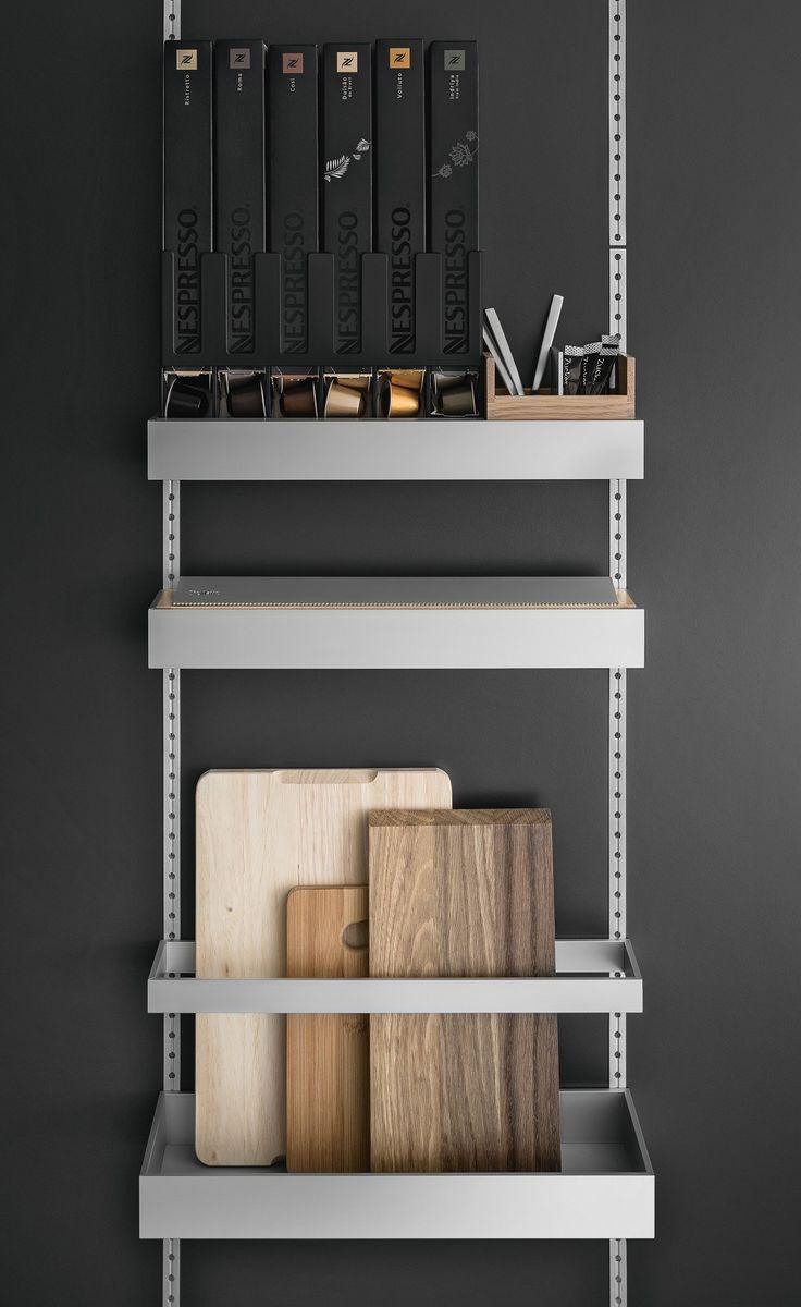 SieMatic MultiMatic - rangement intérieur de #cuisine de #luxe. Tout trouve sa place !