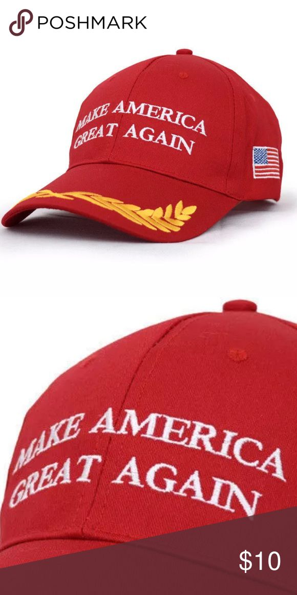 {SLASH SALE 💐}Trump Gold Leaf Hat Brand new without tags. Material is cotton. This is NOT a political forum! I'm selling this hat, not an argument! Accessories Hats