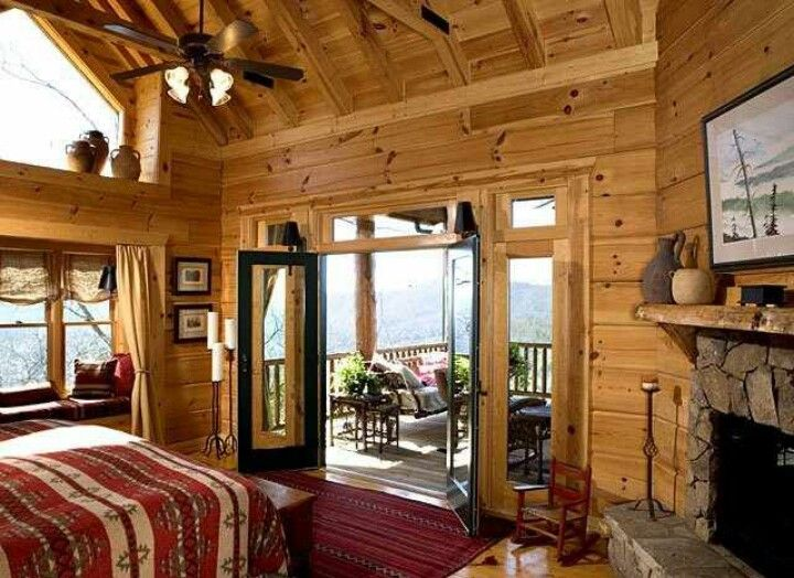 log cabin bedrooms pin tillagd av jacqueline camp p 229 cozy cabins 12156