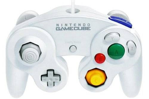 awesome Official Nintendo White Classic Gamecube Controller