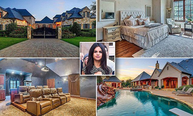 Selena Gomez has flung her 10,000 square foot home in Fort Worth onto the property market, People reported Friday.