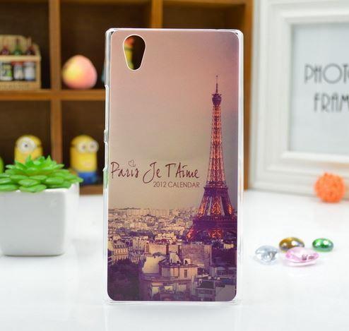 Pouzdro na mobilní telefon Lenovo P70 Eifelova Věž