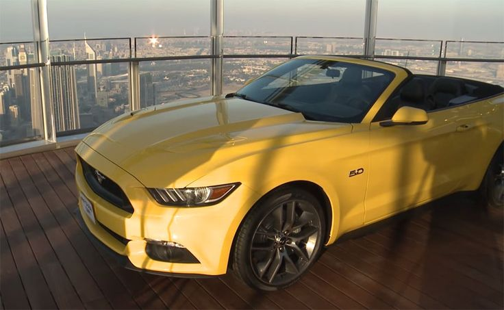 Ford Places 2015 Mustang On Top of World's Tallest Building – Burj Khalifa in Dubai: Video http://www.automotiveaddicts.com/49662/ford-2015-mustang-top-of-worlds-tallest-building-burj-khalifa-dubai-video