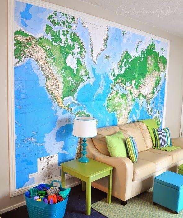 Map Wall Playroom Cg By Wildisthewind