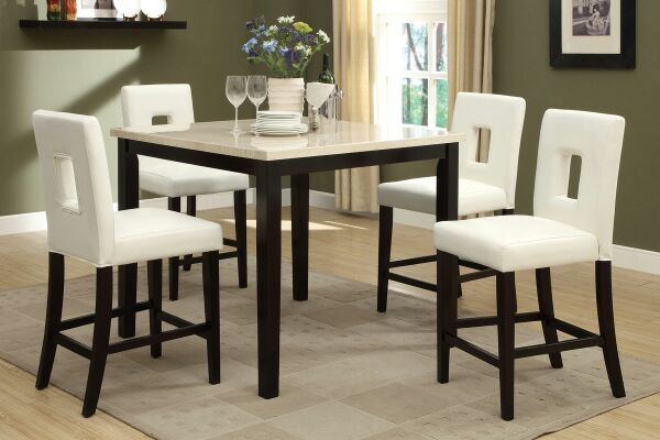 New 4 chair dining set
