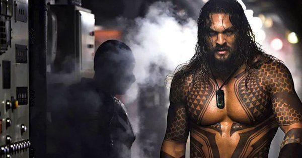 Una nuova foto da Aquaman, il cinecomic con Jason Momoa
