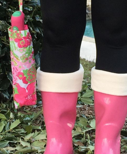 Crushin' on the 'Call Me Maybe' rain boots   Dress these babies up or with a fab t-shirt and you're set! Don't forget the rain boot socks that come in more colors! #pinkrainboots #bootsocks #shopPD