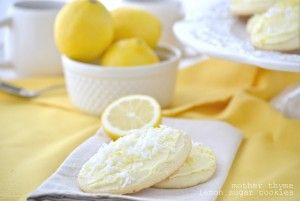 Lemon sugar cookie and other great Christmas cookie recipes