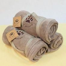 Super Zachte Koffie Kleur Huisdier Handdoek Hoge Kwaliteit Puppy Deken Fleece…
