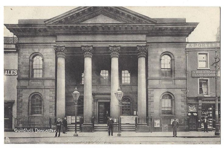 DONCASTER Guildhall, Old Postcard by Tuck, Unused | eBay