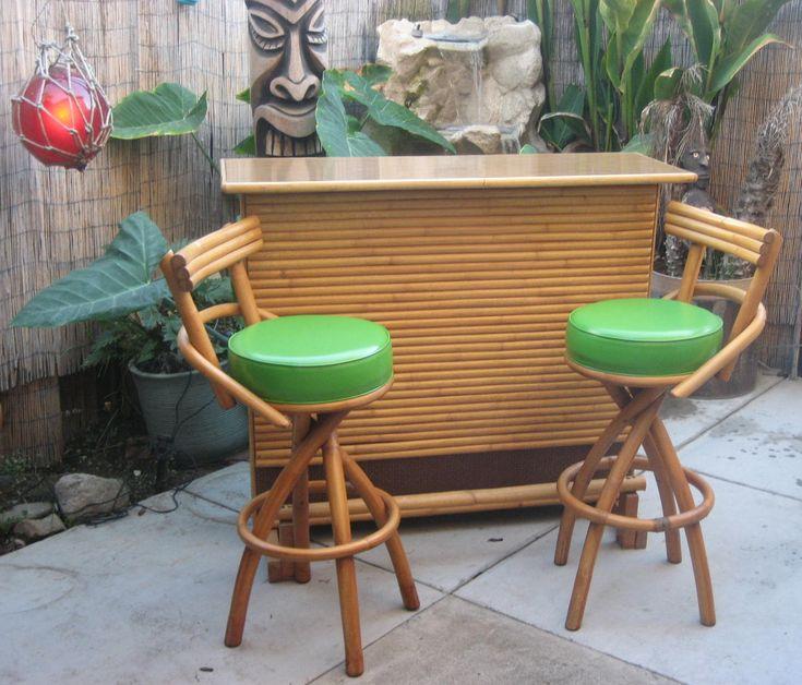 Tiki Bar Decor Courtesty Of Retro Renovations