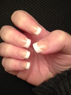 My acrylic nails course work