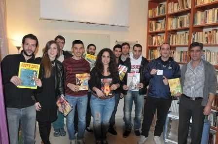 COMIC-SHARING για πρώτη φορά στη Λάρισα #booksharing #comicsharing