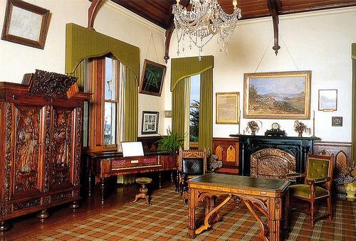 Larnach Castle music room
