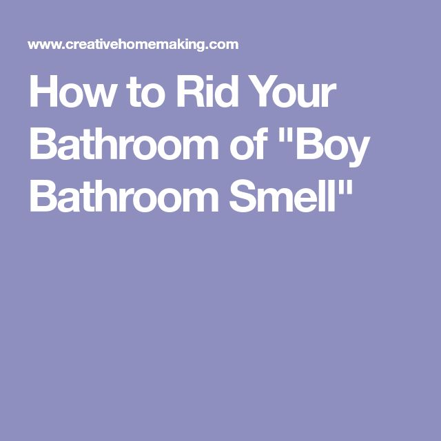 how to get rid of smell in water bottle