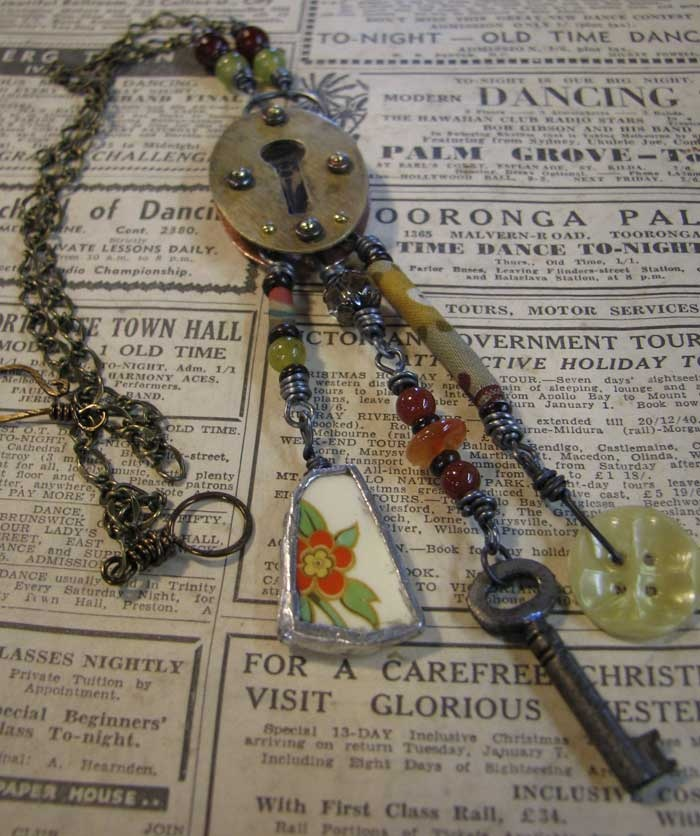 Ro Bruhn This necklace was made