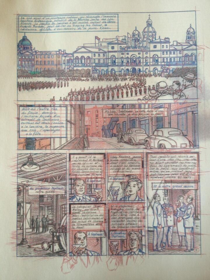 « Blake et Mortimer T22 : L'Onde Septimus » par Antoine Aubin, Étienne Schréder et Jean Dufaux | BDZoom.com