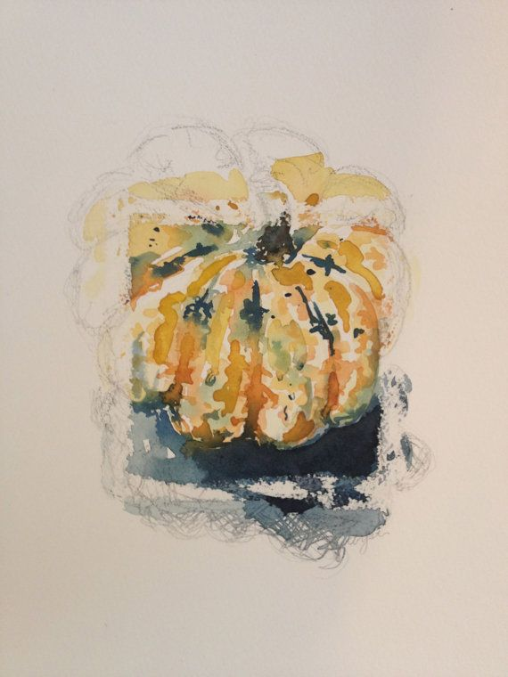 Winter Squash by ChristenYatesArt on Etsy, $60.00