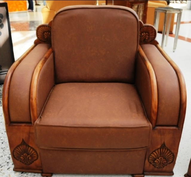 Leather Art Deco Club Chair - 10 Best Vintage Club Chairs Images On Pinterest Overstuffed Chairs