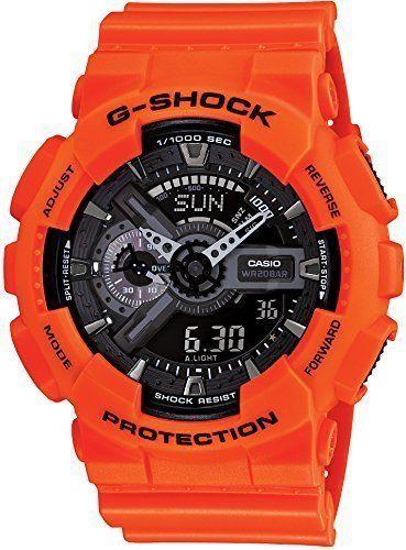 New CASIO Wristwatch G-SHOCK Rescue Orange Series GA-110MR-4AJF Men's from Japan #Casio